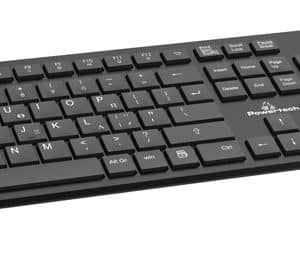 Powertech PT-837 Wireless Keyboard + Mouse Set Black - Ecomelani