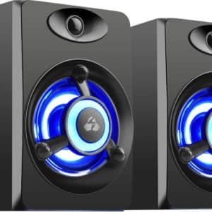 Crystal Sound Speakers 842 Black - Ecomelani