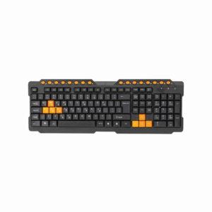 Keyboard Gr Omega Ok-26 M-dia Wired Black - Ecomelani