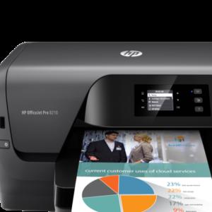 HP OfficeJet Pro 8210 Printer Print, Wifi- Ecomelani